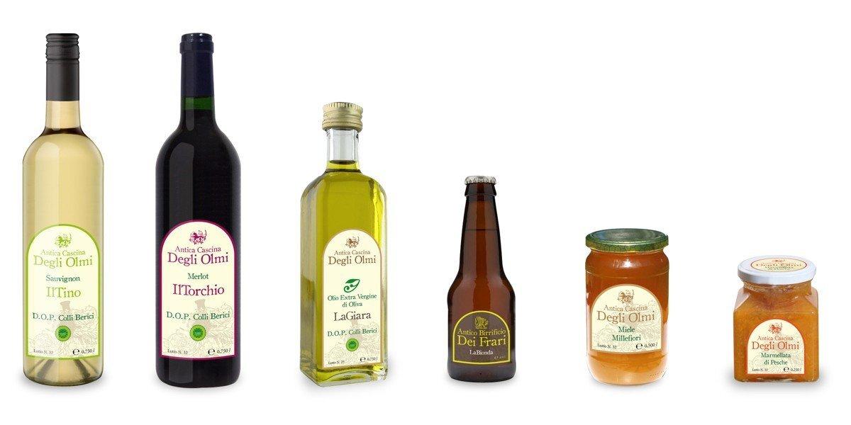 Amato Stampa Etichette Adesive Personalizzate per Bottiglie e Vino EO89