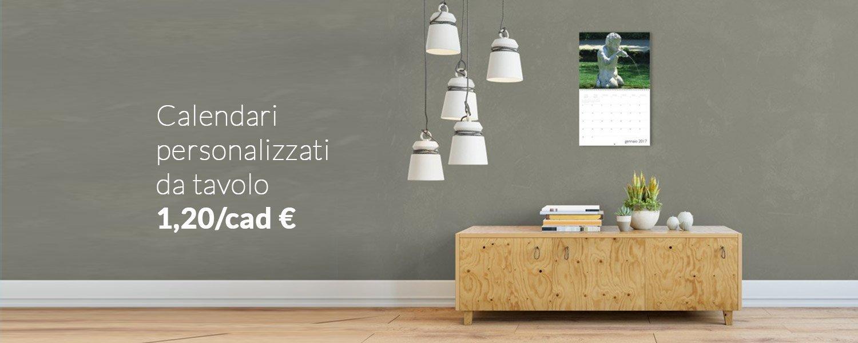 Tipografia online economica stampa digitale tecnografica rossi - Calendari da tavolo personalizzati ...